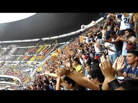 """la rebel 2013 dale pumas dale dale oooo"" Barra: La Rebel • Club: Pumas"