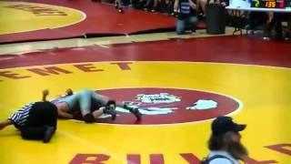 Temescal canyon wrestling Anthony Estrada