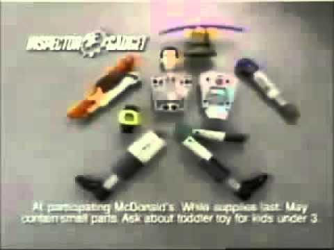 McDonald's Inspector Gadget Commercial