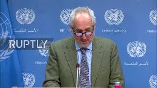 """ONZ: Guterres wzywa do """"powściągliwości"""" po atakach lotniczych USA na milicję w Syrii - spox"""