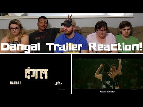 Dangal / Aamir Khan / Trailer Reaction!