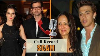 SHOCKING! Kangana Ranaut & Aisha Shroff Exposed In Call Record Scam v| The Bollywood Channel