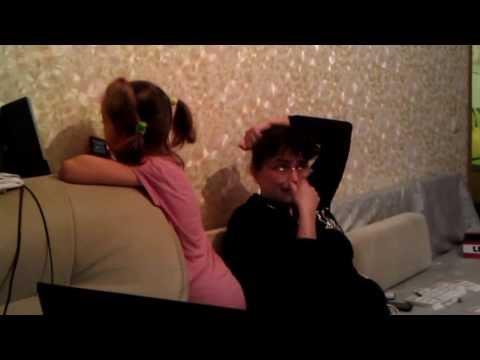 ЛЮБИМАЯ НОВОГОДНЯЯ ПЕСНЯ Поздравление для ПРАБАБУШКИ Варвары Аполоновны от  Яны VIDEO0098