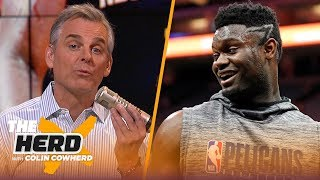 Zion Williamson is exactly what the NBA needs right now, Colin talks Ja Morant potential | THE HERD