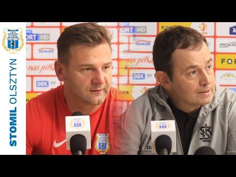 Konferencja prasowa po meczu Stomil Olsztyn - ŁKS Łódź 0:3