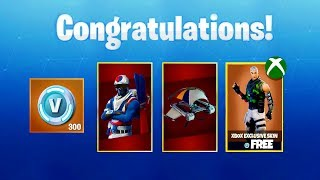 """How To Unlock """"Alpine Ace (KOR)"""" AND XBOX EXCLUSIVE """"FREE"""" SKINS - (Fortnite Battle Royale)"""