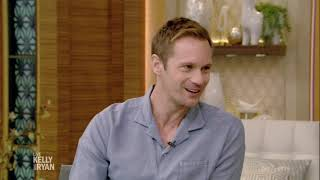 Alexander Skarsgard Lived Out Of A Suitcase For Two Years