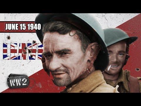 Pád Paříže a italský vstup do války - Druhá světová válka