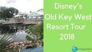 Disney's Old Key West Full Resort Tour 2018 | Deluxe Studio Villa Room