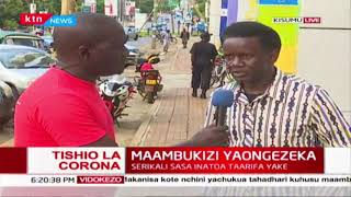 Kenyans react to President Uhuru Kenyatta\'s directives on Coronavirus