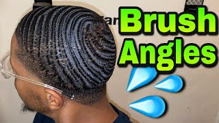 How To Brush 540 Waves   Brush Angles