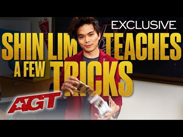AGT Talent University: Ace Magician Shin Lim Teaches a Master Class - America's Got Talent 2020