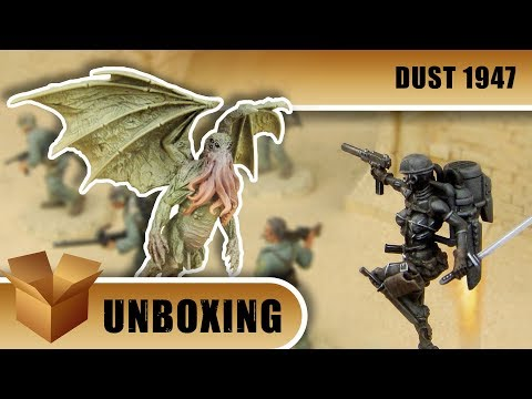 Unboxing: Dust 1947 - Premium Edition
