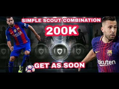 FUTURE BLACK BALL JORDI ALBA SCOUT COMBINATION IN PES 2018