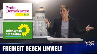 Heute Show erklärt FDP und Grüne