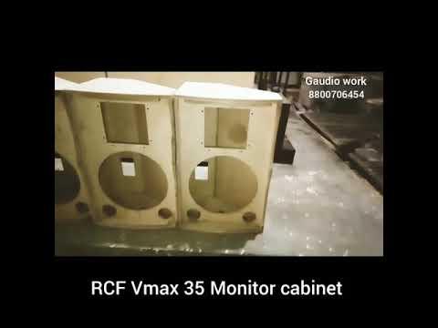 Vmax 35 Rcf Monitor Cabinet