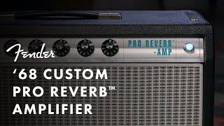 Fender '68 Custom Pro Reverb Video