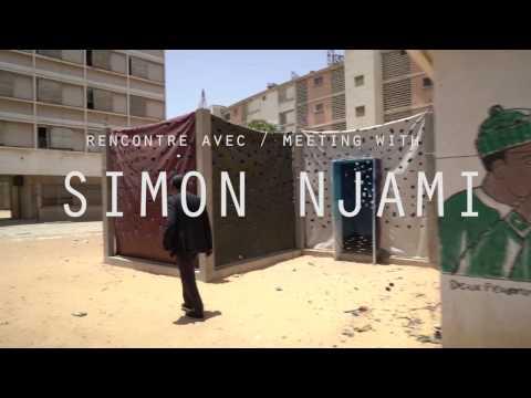 Vidéo de Simon Njami