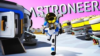 HUGE NEW BASE BUILDING Update - Brand NEW Habitat! - Astroneer Gameplay