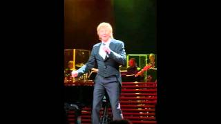 """It's a Miracle"" ~Barry Manilow's opening number ~Amway Center~2/2/16"
