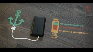 Der Anker PowerCore 10000 mit Quick Charge 3.0 für Euer Samsung, Oneplus, Switch etc. Deutsch