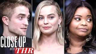 Full LIVE Roundtable: Margot Robbie, Robert Pattinson, Bryan Cranston   Close Up With THR