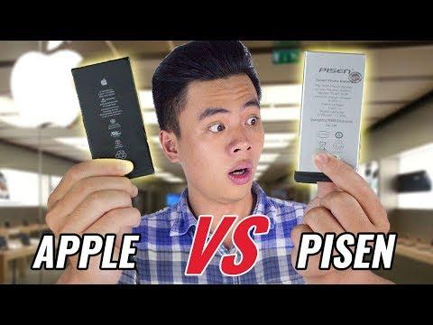 Pin Pisen có đánh bại được pin zin Apple?!