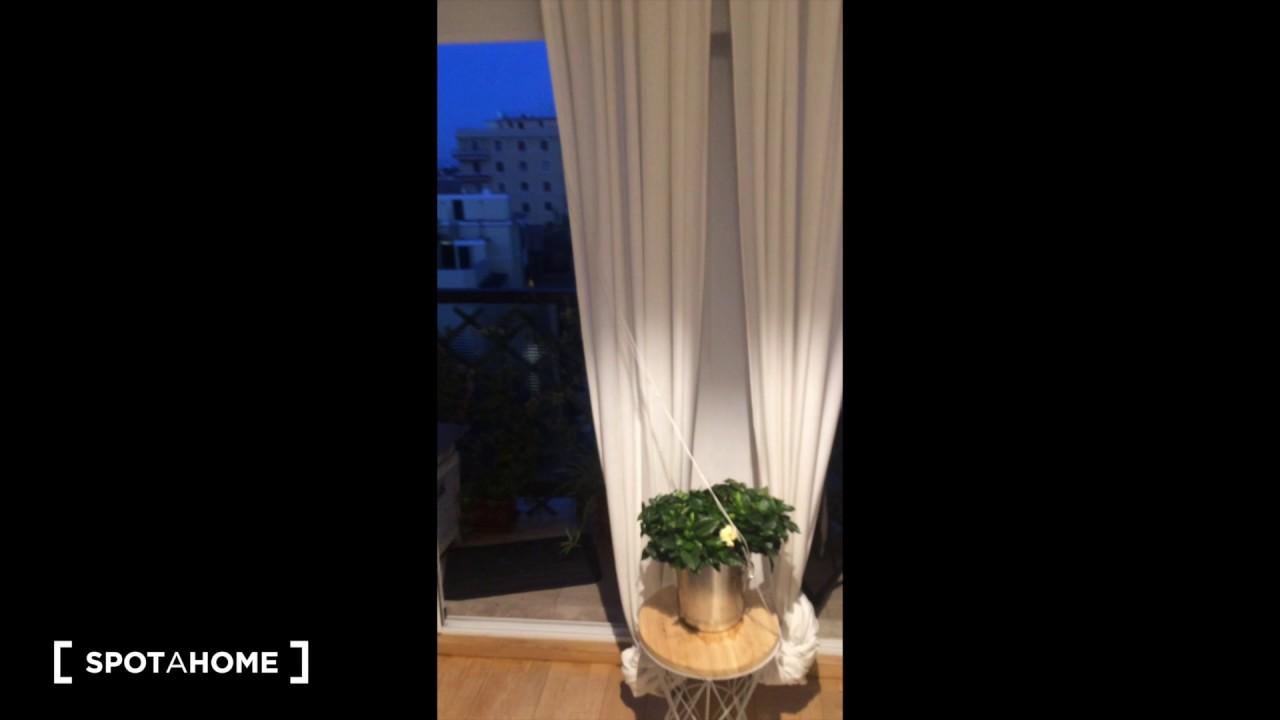 Stylish 1-bedroom apartment with terrace for rent in Prati