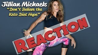 Reacting to Jillian Michaels Keto Video | A Closed-Minded, Biased Perspective