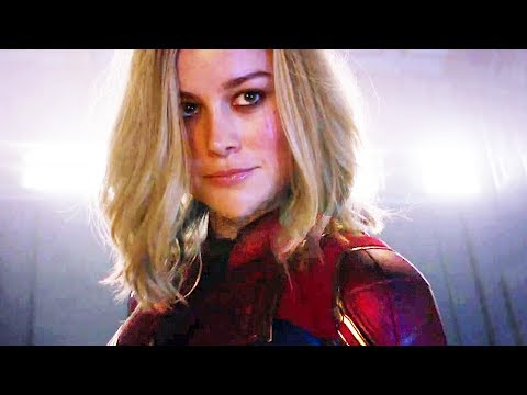 CAPTAIN MARVEL Trailer (Super Bowl 2019) New Marvel Movie HD