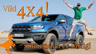 Ford Ranger RAPTOR - Berner tror næsten at det er løgn ... så vild er den