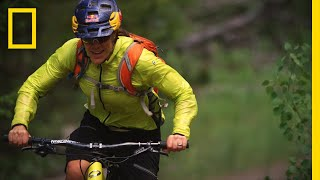 She Biked 1,200 Miles to Find Her Father's Final Resting Place | National Geographic thumbnail