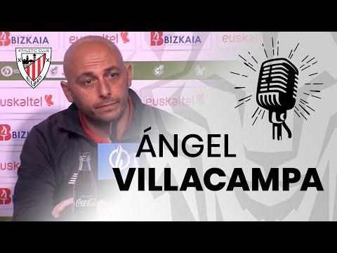 🎙️ Ángel Villacampa I post Athletic Club 1-0 Valencia CF I J18 Primera Iberdrola