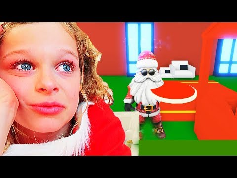 BIGGY CRIED DECORATING CHRISTMAS HOUSE Roblox Gaming w/ The Norris Nuts
