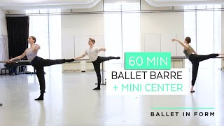 60-min Ballet Class With Peter Boal At Pacific Northwest Ballet