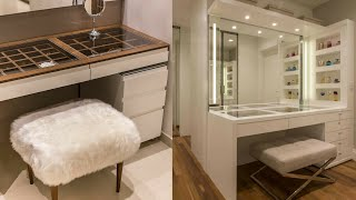 Top 100 Modern Dressing Table Design Ideas For Bedroom Interiors 2020
