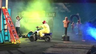 Q & Joey Fatone - Nitro Circus Live - 11/3/16 - Prudential Center - NJ