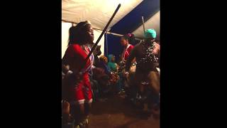 Lesotho Sangoma (Traditional HealerShaman) Initiation Ritual Pt 3   Ancestral Dancing