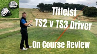 Full Fitting: Titleist TS2 and TS3 drivers (with TrackMan