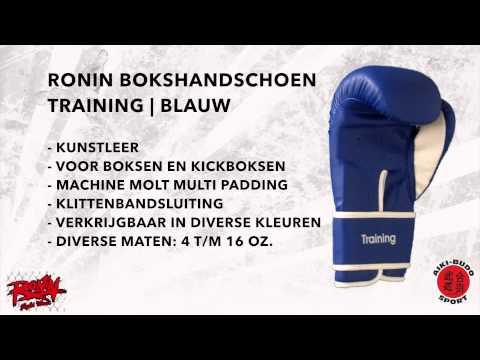 Bokshandschoen Ronin® Training Blauw