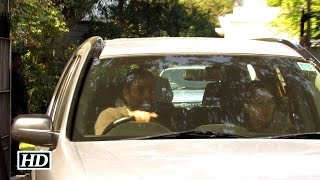 Rahul Gandhi Drives Mom Back Home