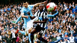 HIGHLIGHTS ● BPL ► Manchester City 6 Vs 1 Newcastle United  3 Oct 2015  English Commentary