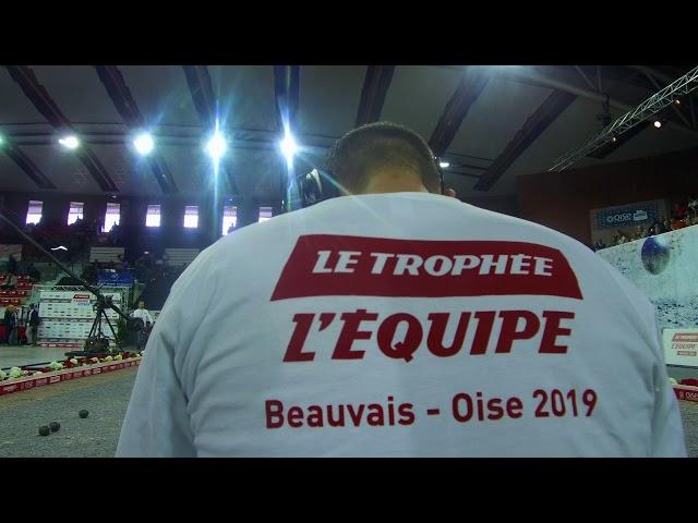 Trophée L'Équipe - Du 8 au 13 octobre dans l'Oise, à l'Élispace-Beauvais