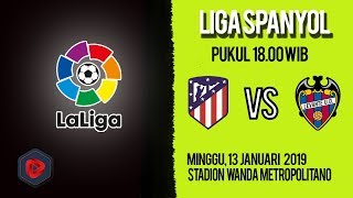 Jadwal dan Cara Live Streaming Atletico Madrid Vs levante di HP via MAXStream beIN Sports