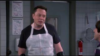 Elon Musk On The Big Bang Theory