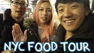 New York City FOOD Tour With CHONNY & DALENA