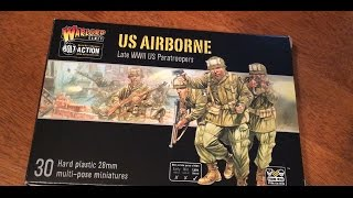 Unboxing: US Airborne Plastic Box Set from Warlord Games