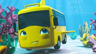 Buster In The Ocean Song | Go Buster | Nursery Rhymes | Baby Songs | Kids Song | Little Baby Bum