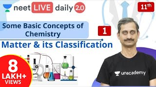 NEET: Some Basic Concepts of Chemistry - L1 | Class 11 | Live Daily 2.0 | Unacademy NEET | Anoop Sir