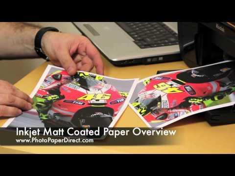 O matiranem papirju za tiskanje fotografij